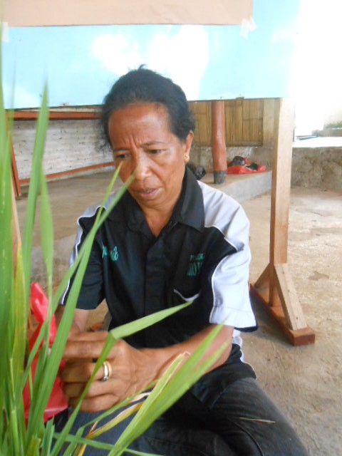 Beatrix Rika, a local farmer